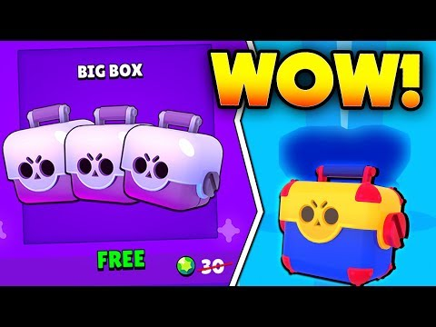 WE GOT WHAT??! NEW FREE BIG BRAWL BOX OFFER OPENING IN BRAWL STARS!