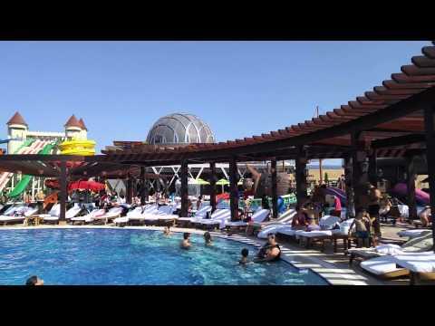 Baku Azerbaijan Dalga Beach Aquapark Resort