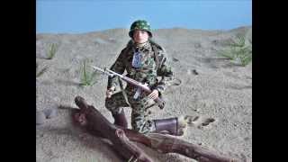 GI Joe Action Marine - News Reel 1945
