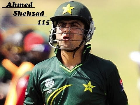 Ahmed Shehzad 115 runs in his debut match | HD high quality | against new zealand ....!!!!