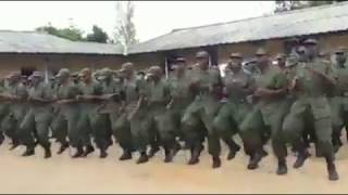 ZAMBIAN POLICE  TRAINING ONE VOICE AND ONE FAMILY