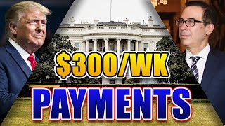 $300/WEEK UNEMPLOYMENT BENEFIT | 6 STATES PAYING OUT, 4 STATES TO GET FULL $400/WEEK, FLORIDA UPDATE
