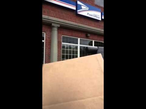 At Post Office Mailing Package to Amazon Buyer