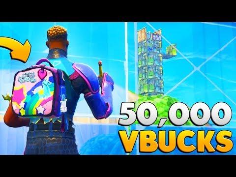 "WIN 50,000 ""FREE V BUCKS"" In New FORTNITE Pro Game Mode"