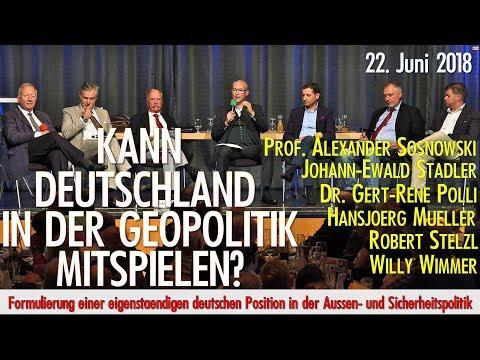 Merkel – Das Sicherheitsrisiko für Deutschland und Europa? mit Willy Wimmer, Prof. Sosnowski, uvm