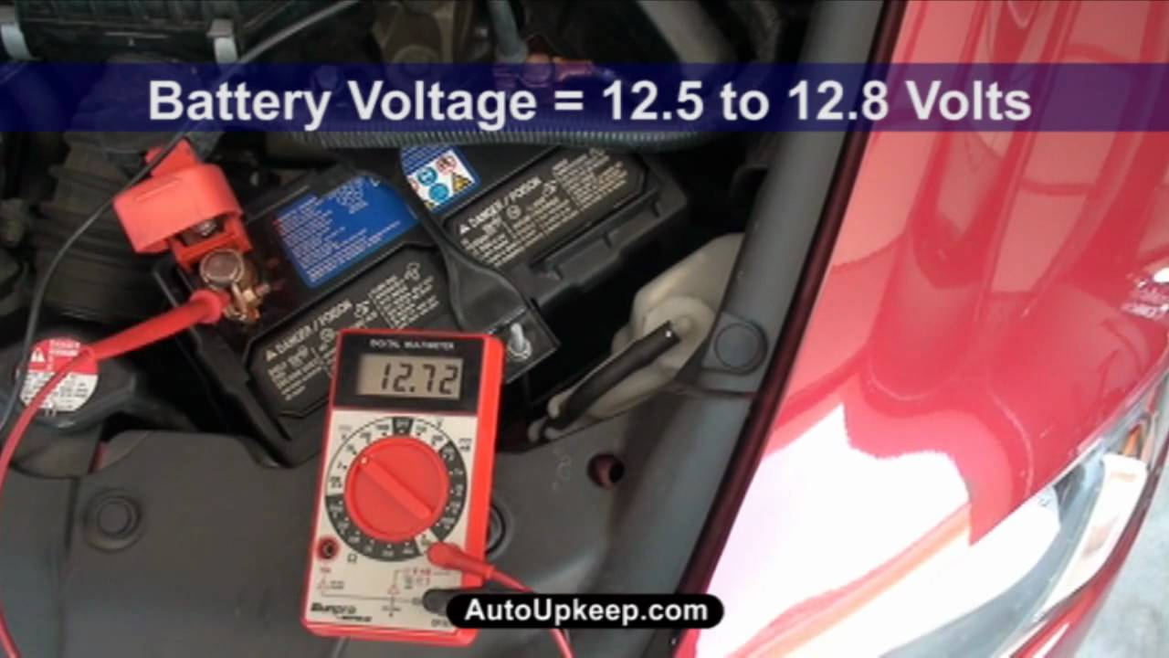 How To Test Alternator Voltage Output Autoupkeep Com Youtube