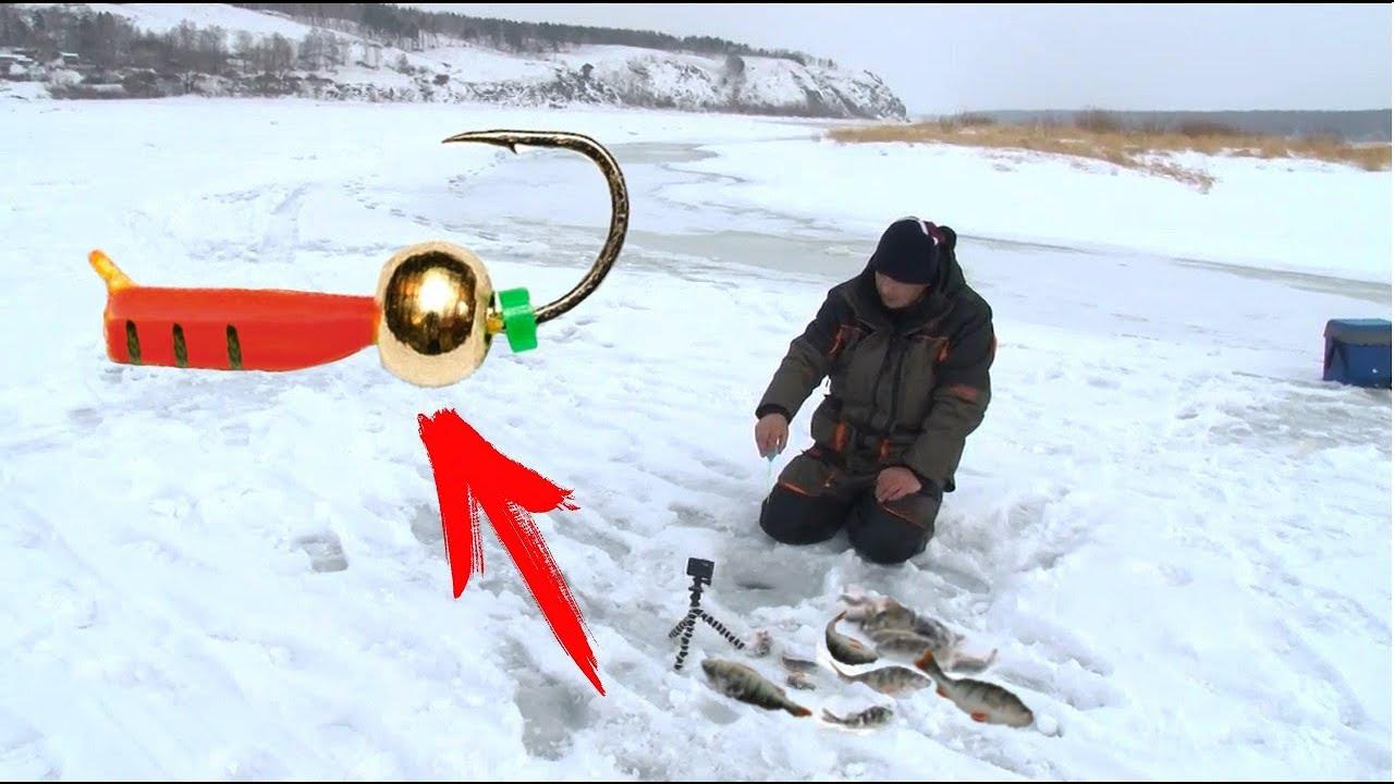 Этот гвоздешарик спас рыбалку. Зимняя рыбалка 2018. Ловим окуня со льда на безмотылку с Aikoland TV