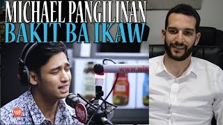 "VOCAL COACH reacts to MICHAEL PANGILINAN singing ""Bakit Ba Ikaw"" on WISH BUS"