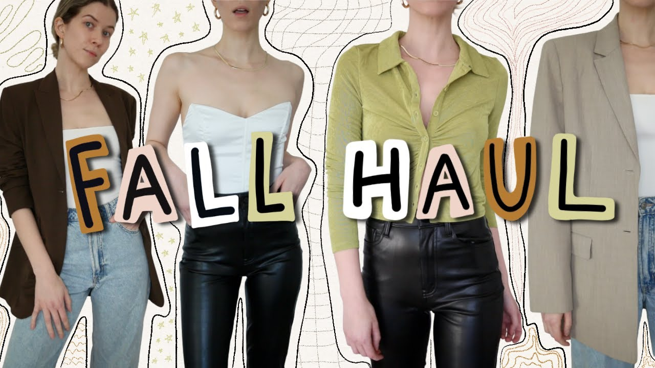 fall clothing haul 2021 + try on