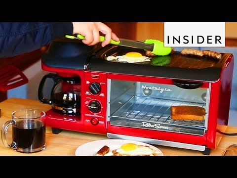 Download Youtube: Toaster Cooks Your Entire Breakfast for You
