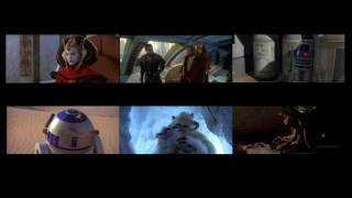 Star Wars Ep. I to Ep. 6 at the same time.