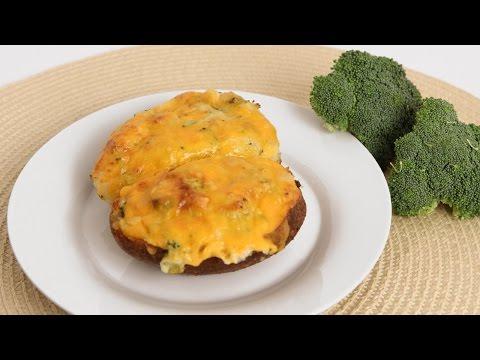 Cheddar Broccoli Twice Baked Potato Recipe Laura Vitale Laura in the Kitchen Episode 834
