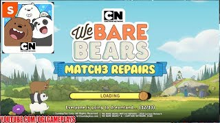 We Bare Bears Match 3 Repairs Gameplay #1 (Android iOS)