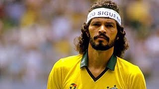 Socrates ● Best Midfielder Ever ● Most Underrated ● The Doctor