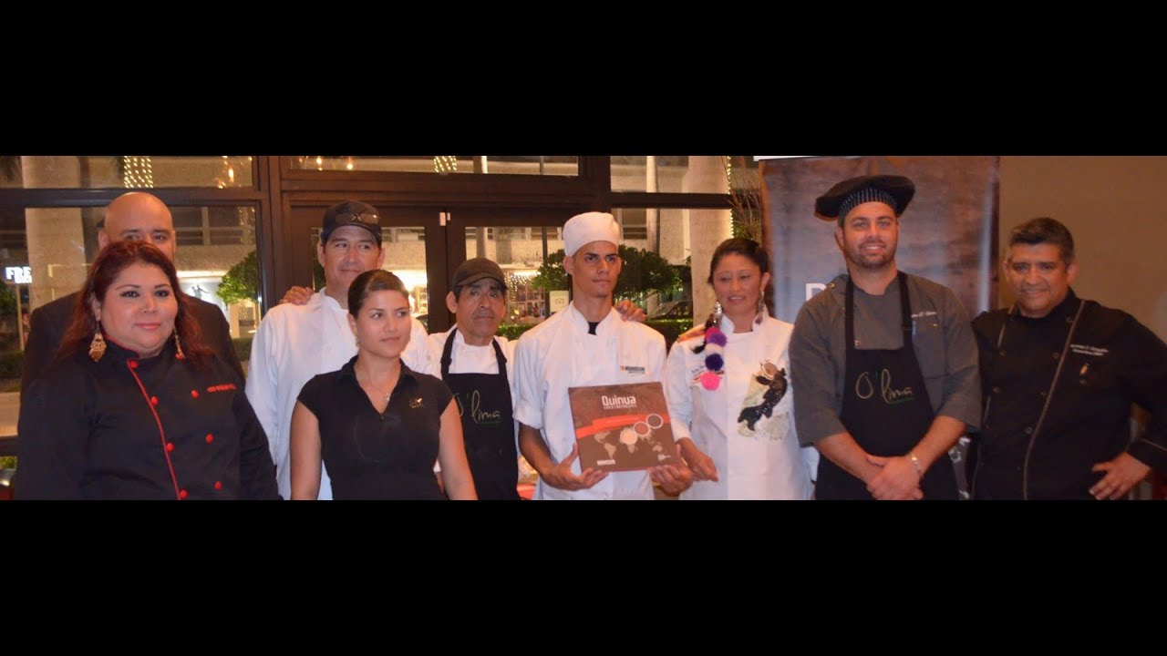 O 39 lima signature cuisine chef irina c herrrera quinua 5 continentes cena de honor youtube - Cuisine irina ...