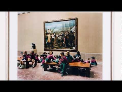 "Roger Ward talks about Thomas Struth ""Museo Del Prado"" photograph and Diego Velásquez ""The Lances""."