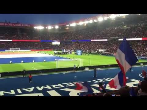 LIVE Parc de Princes: 'Je su Paris' PSG fans sing 'La Marseillaise' after Paris terror attacks