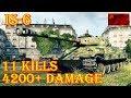 IS-6  11 Kills 4.2K Damage  Paris  World of Tanks