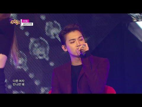 [HOT] Hyolyn X Jooyoung - Erase, 효린 X 주영 - 지워, Show Music Core 20141213
