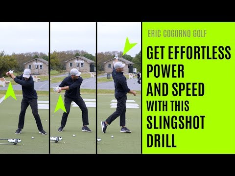 GOLF: How To Have An Effortless Golf Swing – The Slingshot Drill