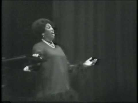 Leontyne Price recital- encores ~ (private video)