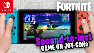 SEASON 13 - Fortnite on the Nintendo Switch #61