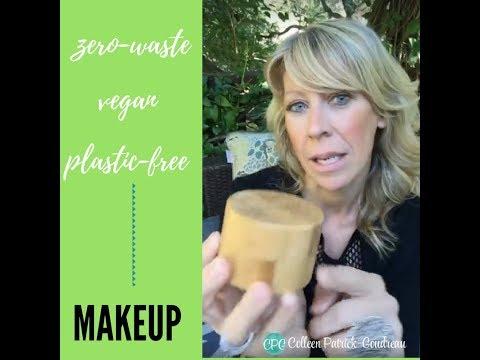 Vegan Zero Waste Plastic Free Makeup