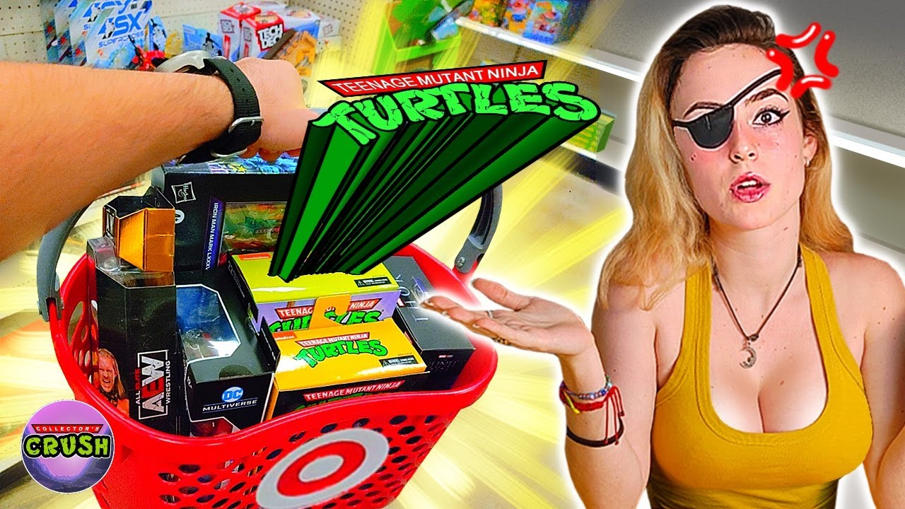 Download The Most Stocked @Target In The Universe? TMNT Toy Hunt