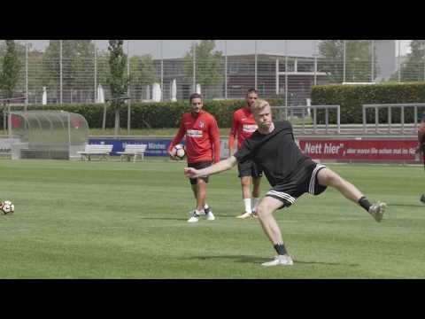 freekickerz Dreh I Rabona VS. Atlético I Interview mit Mertens - AUDI CUP EVENT VIDEO