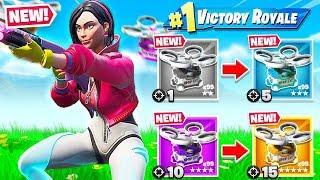 SUPPLY DRONE *GUN GAME* Game Mode (Fortnite)