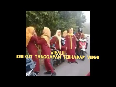 Viral!!! Perkelahian siswi salah satu SMA di Riau. Berikut komentar atas video ini.