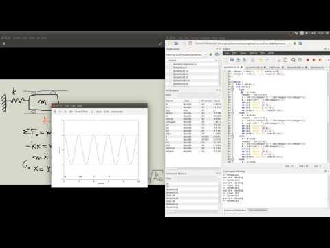 octave dynamics 02c mass spring interactive  - amplitude
