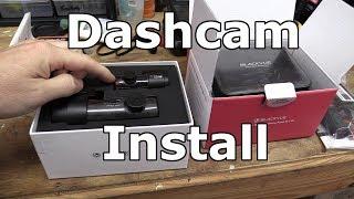 Installing a 2 channel Blackvue Dashcam in a Mini Cooper