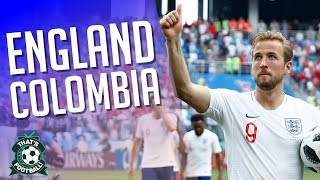 ENGLAND 1-1 COLOMBIA LIVE England Win on Penalties