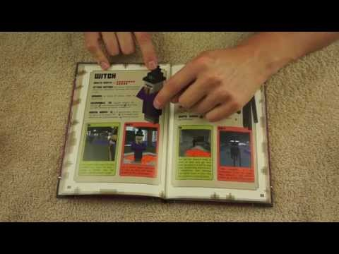Page Turning Book Set - ASMR - Minecraft Handbook Set