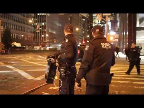 NYPD using LRAD on protesters