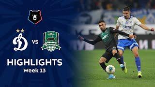Highlights Dynamo vs FC Krasnodar (1-1)