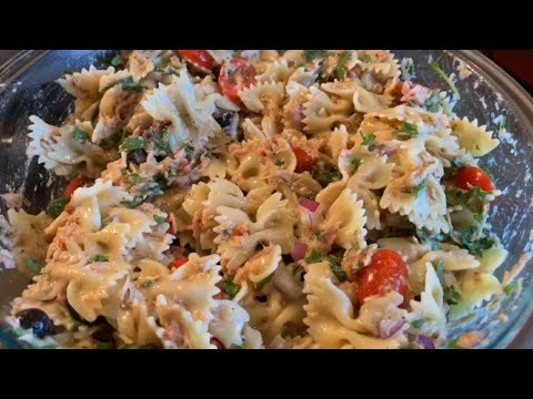 How to make sizzler tuna pasta salad