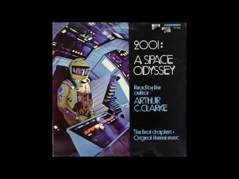 2001 A Space Odyssey Vinyl Record Side 1 read by Arthur C Clarke