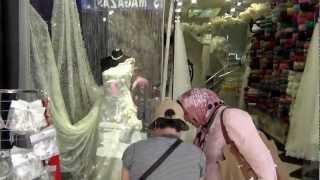 Turkey - 2012 Istanbul  Bazaar Свадебные платья и Ткани