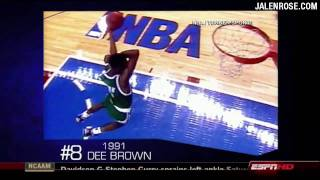 Top 10 All Time Slam Dunk Contest Moments in 720p HD!