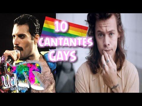 LOS 10 CANTANTES HOMOSEXUALES/GAYS MÁS FAMOSOS Y POLÉMICOS DE LA HISTORIA