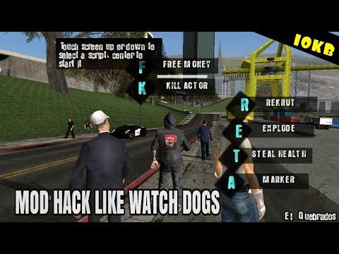 MOD HACK LIKE WATCH DOGS -GTASAANDROID