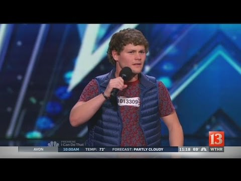 Thumbnail: Indiana native given Golden Buzzer on 'America's Got Talent'
