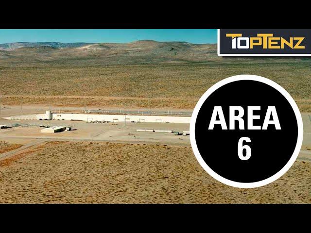 """10 """"Secret"""" Military Bases"""
