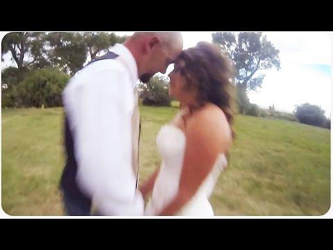 Wedding Crasher Drone Wrecks Picture Pose