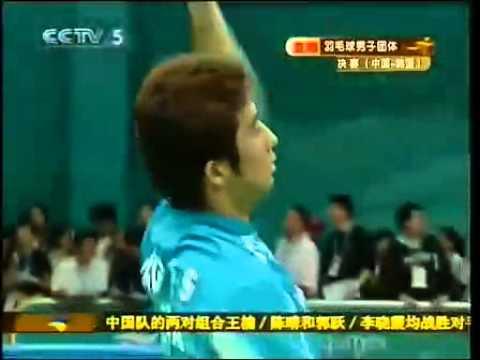 2006 Doha Asian Games Badminton Team Event - Korea Vs China Men Doubles