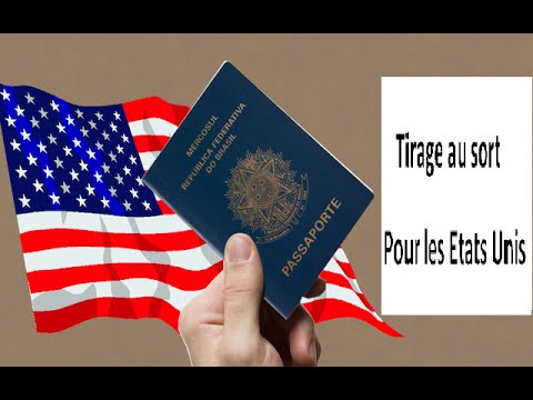 Obtenir une carte de séjour à vie pour les USA(tirage du 2016)