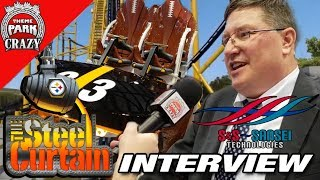 Steel Curtain Train Revealed & EXCLUSIVE Interview with S&S Sansei