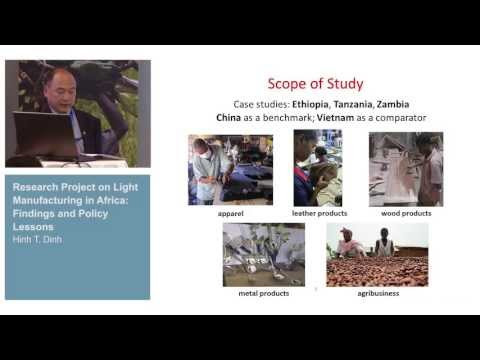 L2C Conference - Industrial policy for Africa: why and how? (II) 1/3